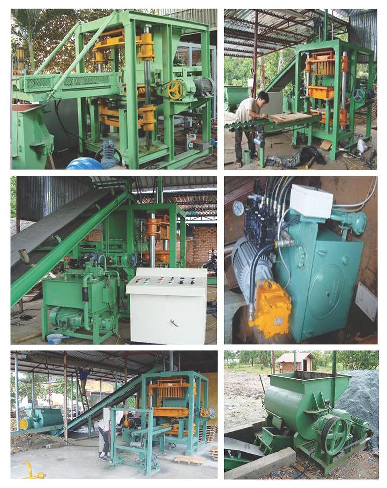may gach block Máy sản xuất gạch block và gạch tự chèn
